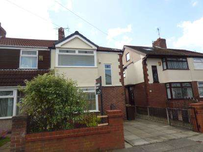 3 Bedrooms Semi Detached House for sale in Derwent Road, Crosby, Liverpool, Merseyside, L23
