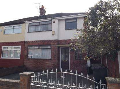 3 Bedrooms Semi Detached House for sale in Raymond Avenue, Bootle, Merseyside, L30