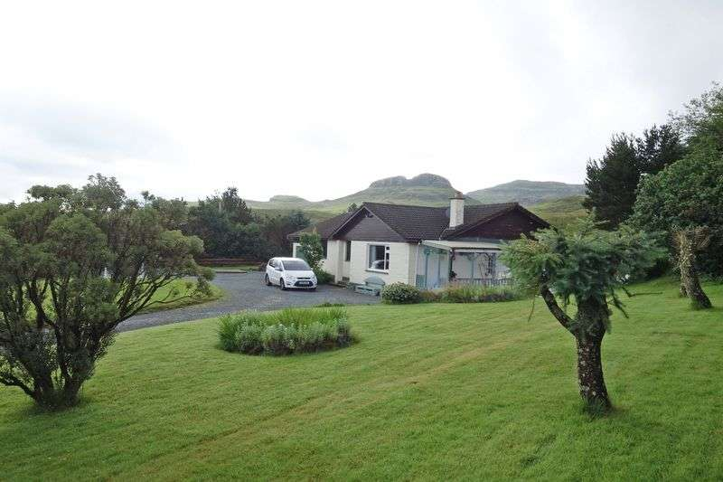 4 Bedrooms Detached Bungalow for sale in Carbost, Isle Of Skye