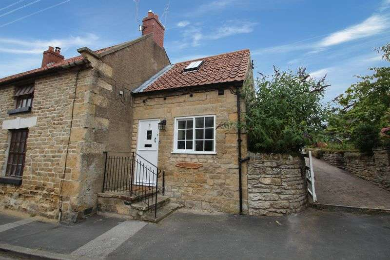 2 Bedrooms Terraced House for sale in Main Street, Ebberston