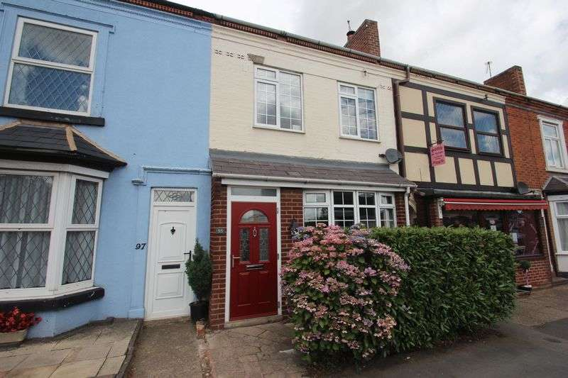 3 Bedrooms Terraced House for sale in High Street, Studley.