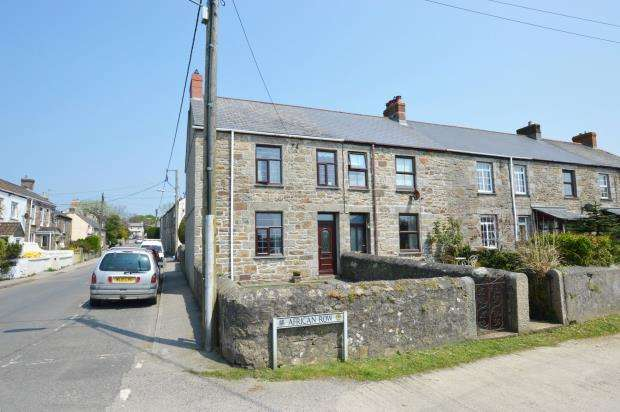 2 Bedrooms End Of Terrace House for sale in African Row, Barripper, Camborne, Cornwall