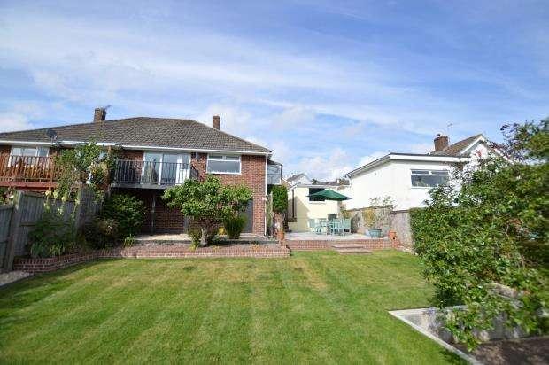 2 Bedrooms Semi Detached Bungalow for sale in Applegarth Avenue, Newton Abbot, Devon