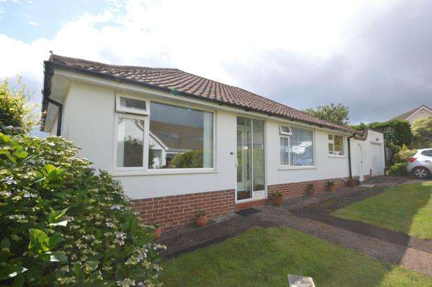 3 Bedrooms Detached Bungalow for sale in Ridgeway Mead, Sidmouth, Devon