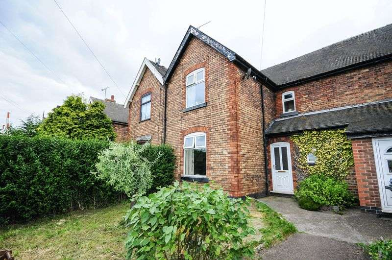 2 Bedrooms Terraced House for sale in Station Cottages, Draycott-In-The-Clay