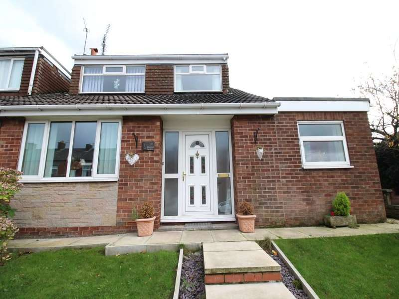 4 Bedrooms Semi Detached House for sale in Montrose Gardens, Royton, Oldham, OL2