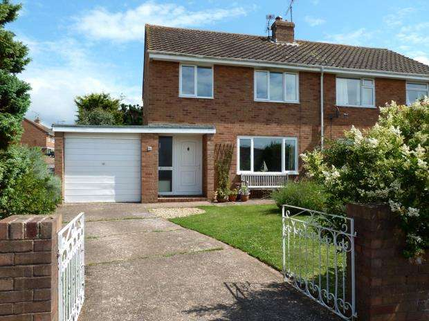 3 Bedrooms Semi Detached House for sale in Clinton Close, Budleigh Salterton, Devon