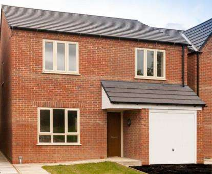 4 Bedrooms Detached House for sale in Pilot Drive, Hucknall