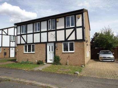 2 Bedrooms Semi Detached House for sale in Corbridge Drive, Luton, Bedfordshire