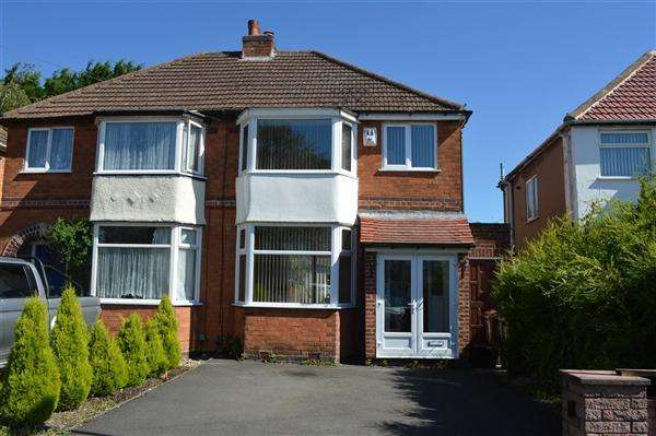 3 Bedrooms Semi Detached House for sale in Wellsford Avenue, Solihull, Solihull