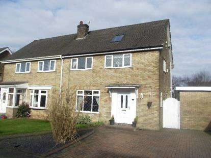 4 Bedrooms Semi Detached House for sale in Radcliffe Avenue, Culcheth, Warrington, Cheshire