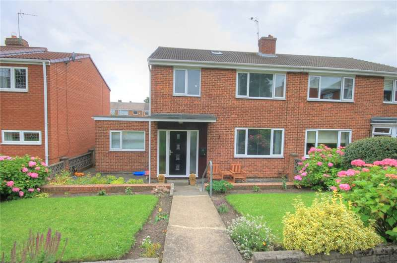 3 Bedrooms Semi Detached House for sale in Burnside, Witton Gilbert, Durham, DH7