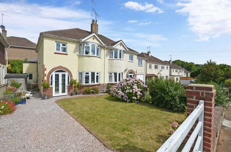 3 Bedrooms Semi Detached House for sale in All Hallows Road, Paignton