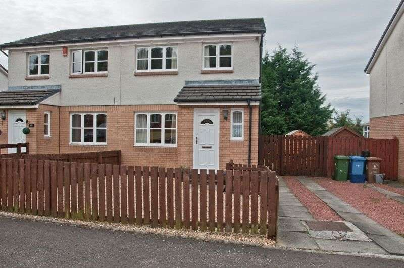 3 Bedrooms Semi Detached House for sale in Mary Stevenson Drive, Alloa