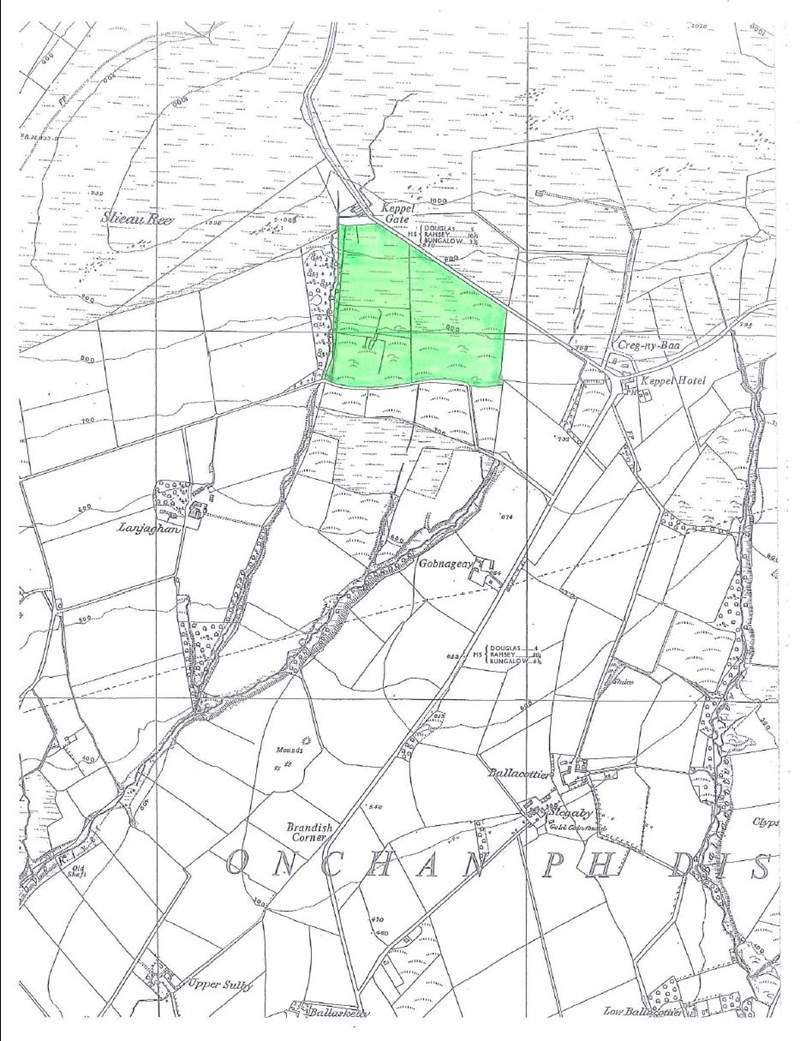 Property for sale in 40 Acres, Below Kates Cottage, Onchan, IM4 5BP