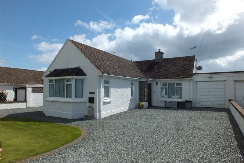 3 Bedrooms Detached Bungalow for sale in Golwg Y Mor, Fourwinds Lane, Penally, Tenby