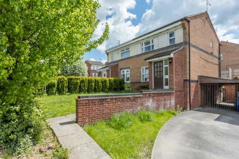 3 Bedrooms Semi Detached House for sale in Heriott Drive, Chesterfield, Derbyshire, S40