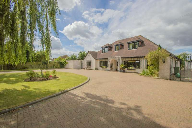 5 Bedrooms Detached House for sale in Warborough, Wallingford, OX10