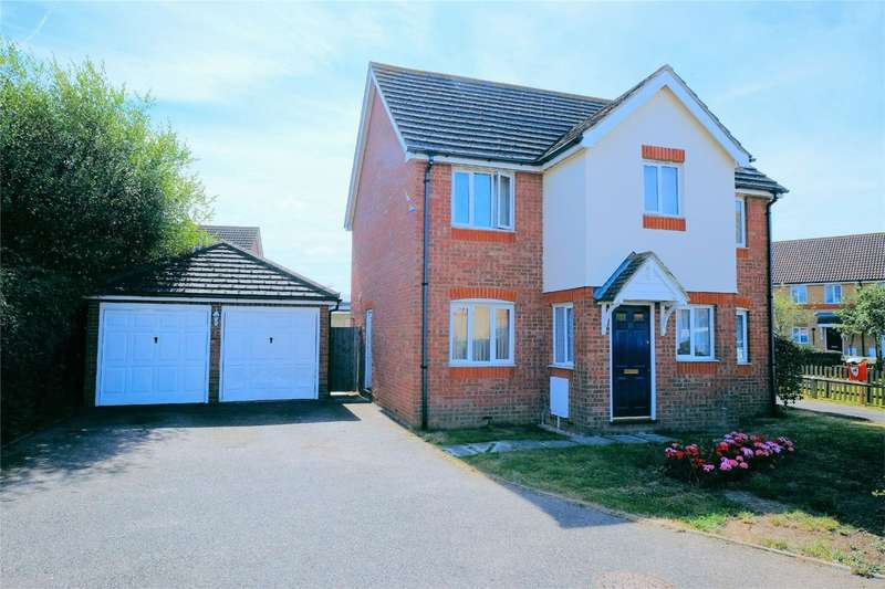 4 Bedrooms Detached House for sale in Columbine Close, WHITSTABLE, Kent