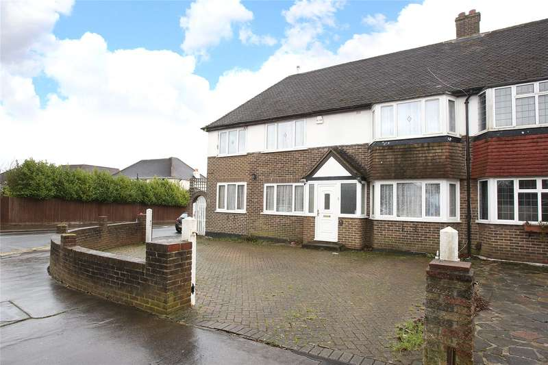4 Bedrooms Semi Detached House for sale in Edgehill Road, Purley