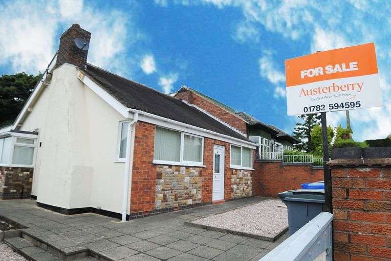 2 Bedrooms Semi Detached Bungalow for sale in Fir Tree Road, Lightwood, Stoke-On-Trent, ST3 7HL