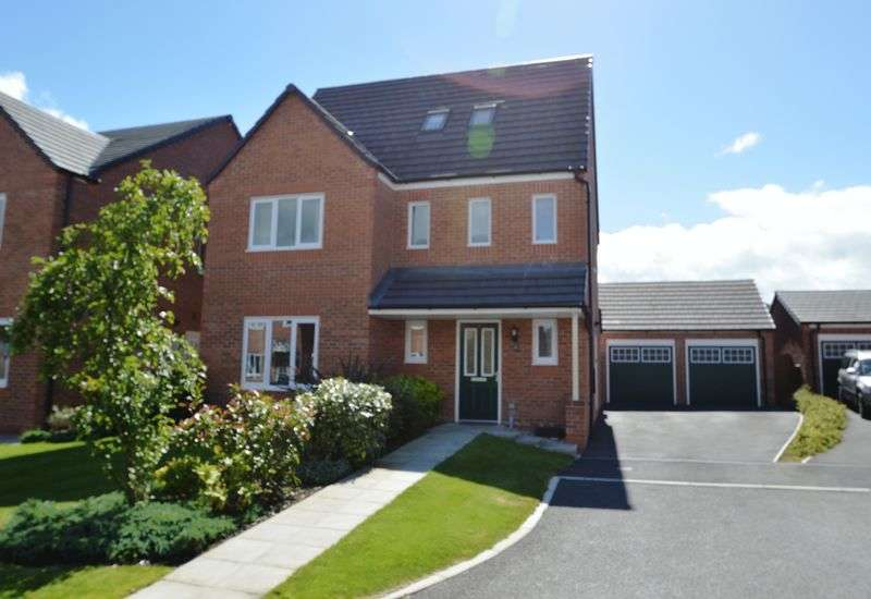 4 Bedrooms Detached House for sale in Maes Glyndwr, Hope, Flintshire