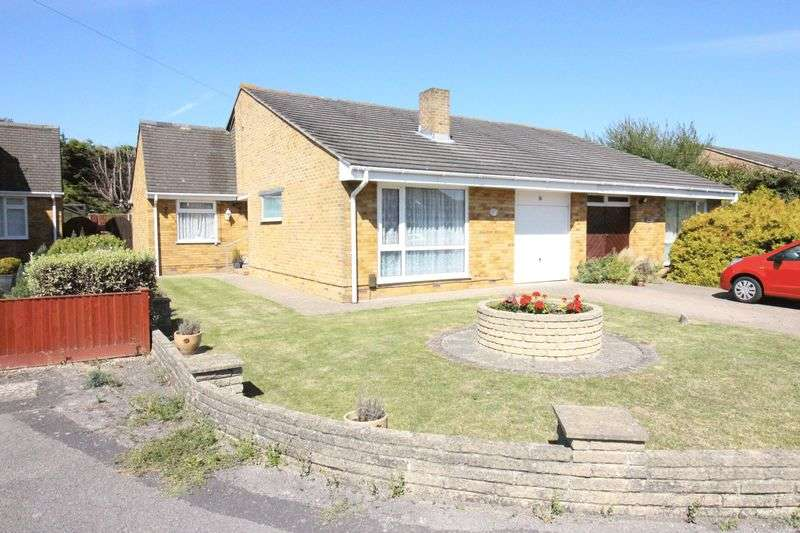 3 Bedrooms Semi Detached Bungalow for sale in Poplar Drive, Fareham