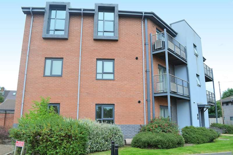 2 Bedrooms Flat for sale in Strawberry Lane, Lichfield, WS14 9GR