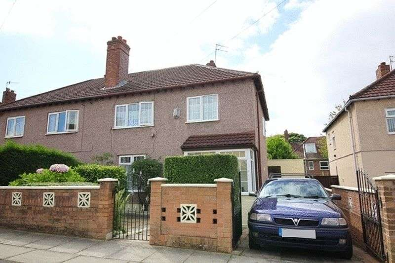 3 Bedrooms Semi Detached House for sale in Clavell Road, Garston, Liverpool, L19