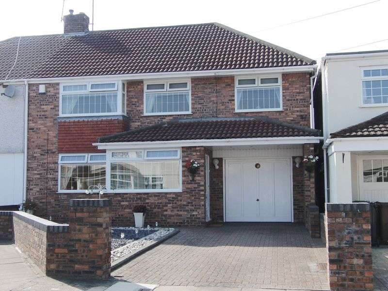 4 Bedrooms Semi Detached House for sale in Bleasdale Avenue, Liverpool