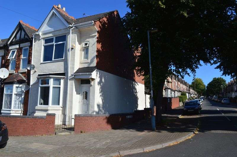 3 Bedrooms Terraced House for sale in Junction Road, Birmingham
