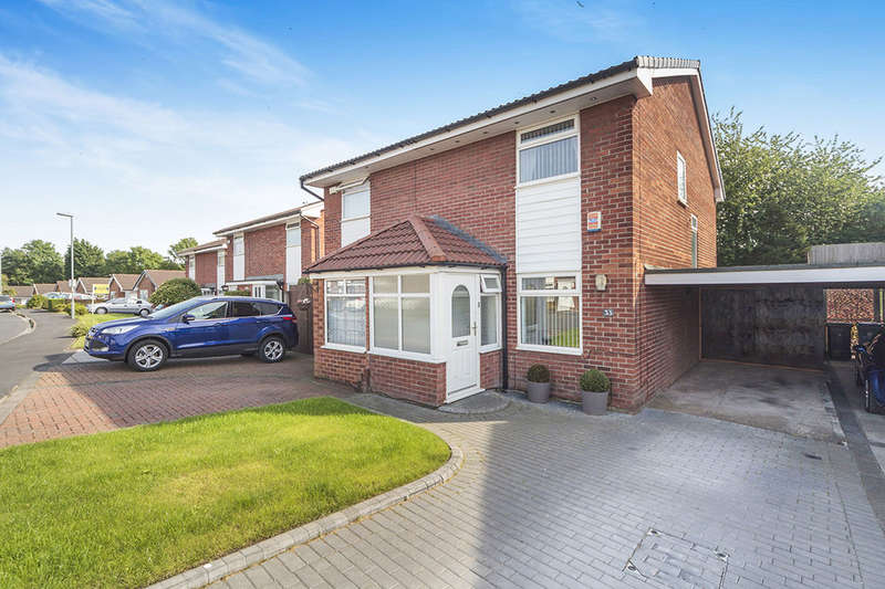 2 Bedrooms Semi Detached House for sale in Cringles Drive, Tarbock Green, Prescot, L35