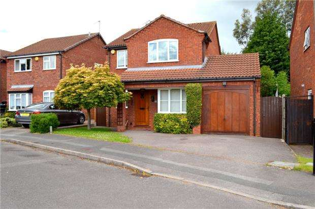 4 Bedrooms Detached House for sale in Squires Croft, Walsgrave, Coventry, West Midlands
