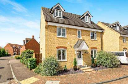 5 Bedrooms Detached House for sale in Langlands, Bedford, Bedfordshire