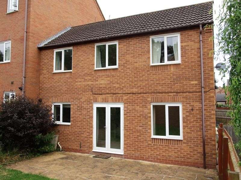 3 Bedrooms Semi Detached House for sale in Colling Close, Loughborough