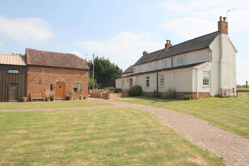 4 Bedrooms Detached House for sale in Farmhouse with Annex, Worcester Road, Peopleton