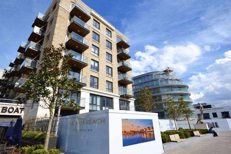 2 Bedrooms Flat for sale in Faulkner House, Fulham Reach, W6