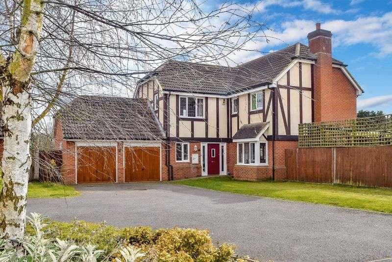5 Bedrooms Detached House for sale in Duck End Close, Houghton Conquest
