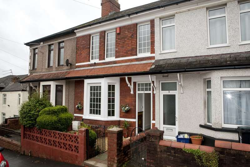 3 Bedrooms Terraced House for sale in Carey Road, Newport, Monmouthshire, NP19