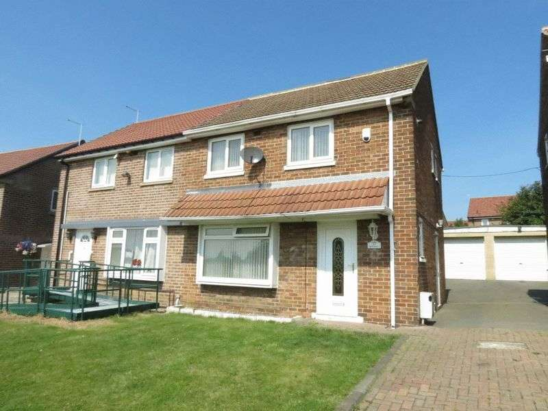 3 Bedrooms Semi Detached House for sale in Rydal Crescent, Peterlee