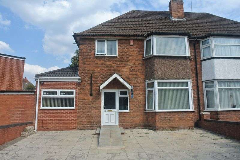 3 Bedrooms Semi Detached House for sale in Twycross Grove, Hodge Hill B36