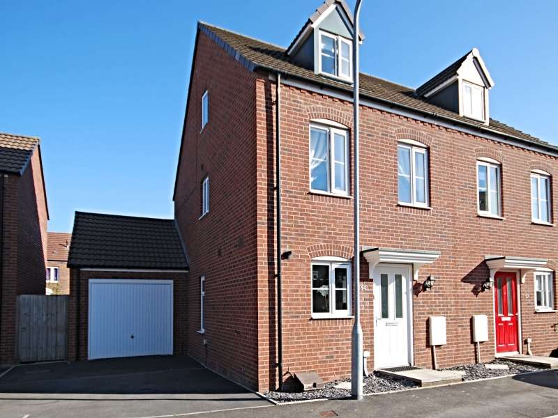 3 Bedrooms Semi Detached House for sale in Lysaght Avenue, Newport, South Wales. NP19 4AH