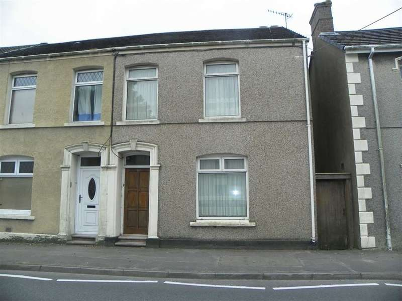 3 Bedrooms Property for sale in Bassett Terrace, Pwll, Llanelli