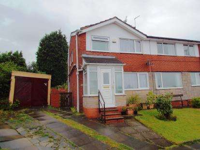 3 Bedrooms Semi Detached House for sale in Cadshaw Close, Pleckgate, Blackburn, Lancashire, BB1