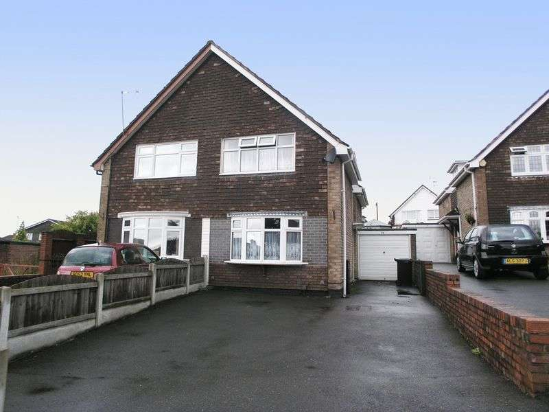 2 Bedrooms Semi Detached House for sale in BRIERLEY HILL, Pensnett, Consort Crescent