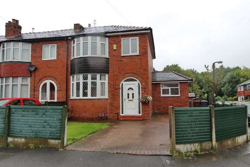 3 Bedrooms Semi Detached House for sale in Mayfair Avenue, Whitefield, Manchester