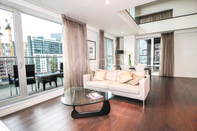 3 Bedrooms Flat for sale in Baltimore Wharf, Canary Wharf