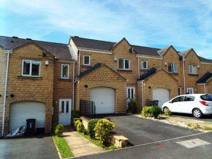 3 Bedrooms Terraced House for sale in Elderberry Drive, Halifax, West Yorkshire