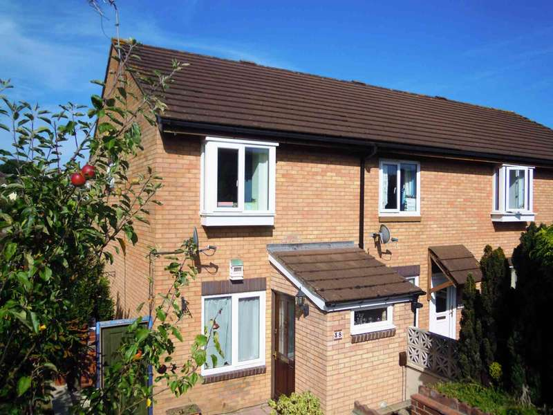 2 Bedrooms End Of Terrace House for sale in Chercombe Valley Road, Newton Abbot