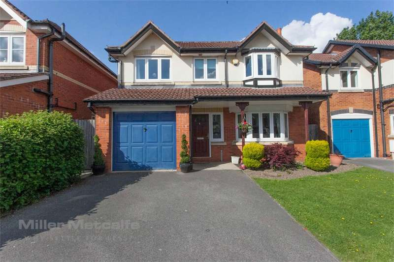 4 Bedrooms Detached House for sale in Higherbrook Close, Horwich, Bolton, Lancashire